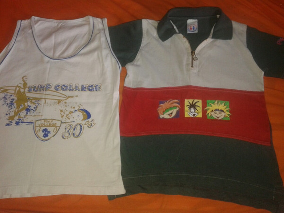 Kit Camisa Polo Carinhoso E Regata Tam 6