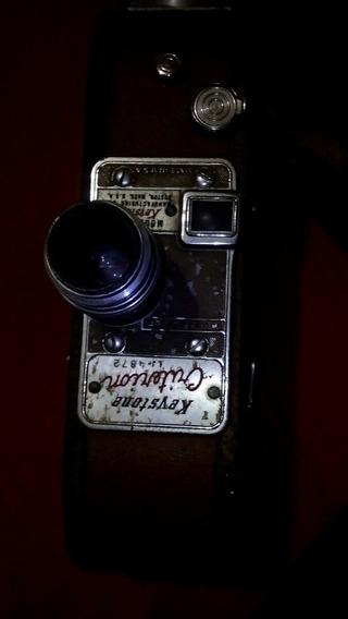 Filmadora Keystone 8mm Model A-9 A Corda Raridade