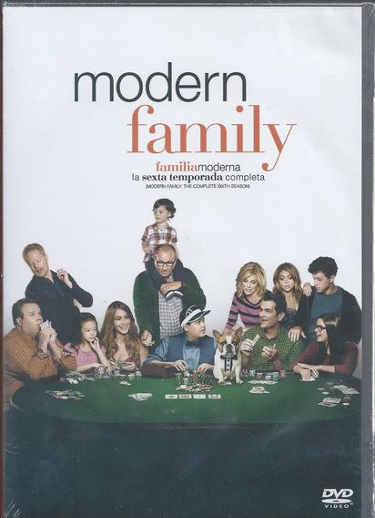 Modern Family Sexta Temporada 6 Serie Tv En Dvd Nacional