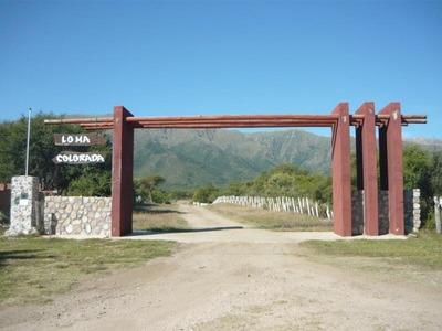 Lotes En Loma Colorada San Luis Cortaderas - Merlo