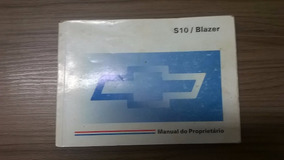 Manual Do Proprietario Gm S-10/blaser 98