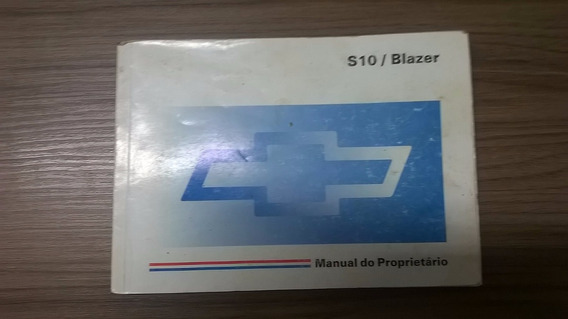 Manual Do Proprietario Gm S-10/blaser 98