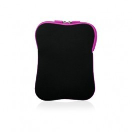 Case Multilaser Neoprene Para Notebook 14 - Preto E Rosa