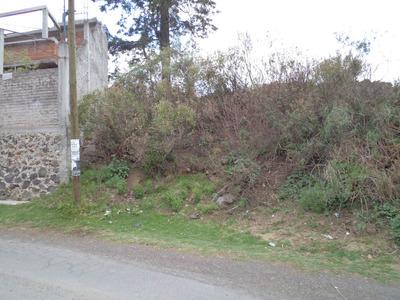 Milpa Alta Terreno Distrito Federal Sobre Calle Pavimentada