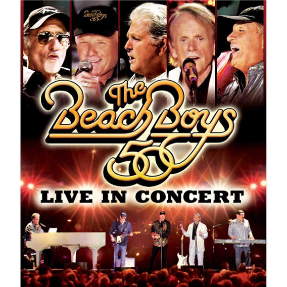 Dvd The Beach Boys: Live In Concert (duplo)