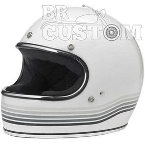 Capacete Custom Biltwell Gringo Le Spectrum Branco Gg(61/62)
