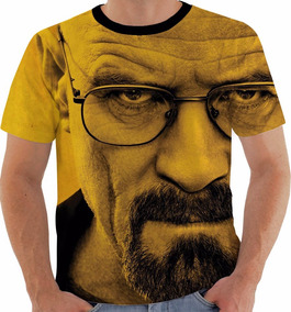 Camiseta Ou Regata Breaking Bad Heisenberg Walter White 7