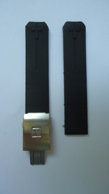 Pulseira Tissot T-touch Borracha Silicone Z353 Be