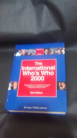 The International Who Is Who 2000