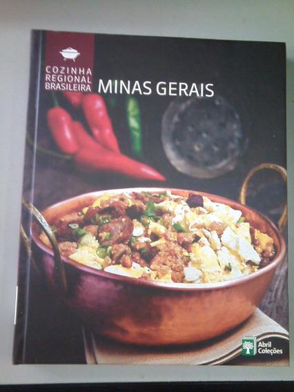 Livro Cozinha Regional Brasileira Minas Gerais Abril Col.