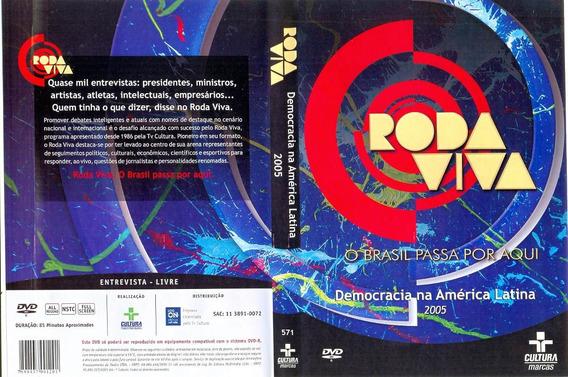 Dvd Lacrado Roda Viva Democracia Na America Latina 2005