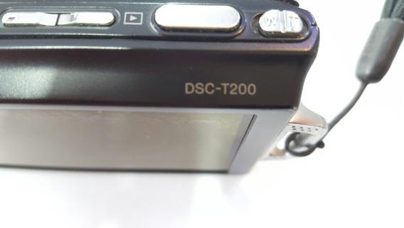 Dsc T-200 Camera Sony Vendo Peças Avulsas ( Ler Anuncio )