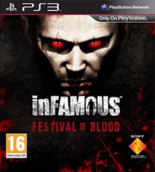 Infamous Festival Of Blood + Resident 3 Ps3 (psn) Imediato!
