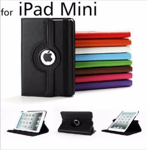 Capa Case iPad Mini 1/2/3 Giratória Coloridas Couríssimo