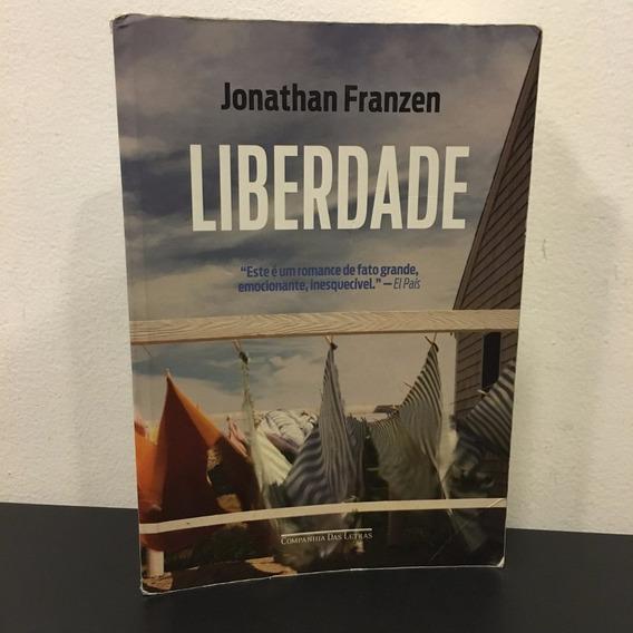 Livro Liberdade - Jonathan Franzen - Romance - Frete $14