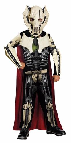 Imagen 1 de 2 de Disfraz De General Grievous Star Wars P/ Niño