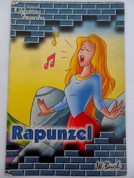Revista Rapunzel Coleção Clássicos Favoritos W. Buch