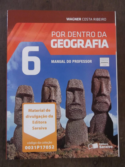 Livro Do Professor Por Dentro Da Geografia 6º Ano Wagner