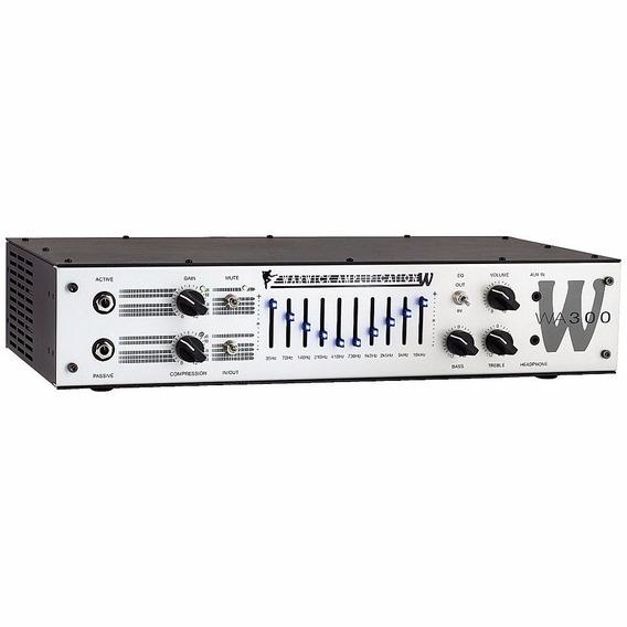 Cabezal Warwick Para Bajo Wa-300 Envío Gratis Cuotas