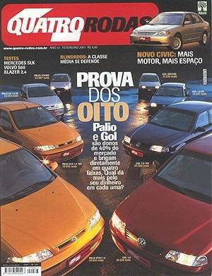 4r.487 Fev01- Golf Civic Blazer Palio Gol1.8 Variant Volv60