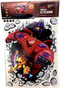 Adesivos Plásticos 3d Vários Personagens Cartela Grande