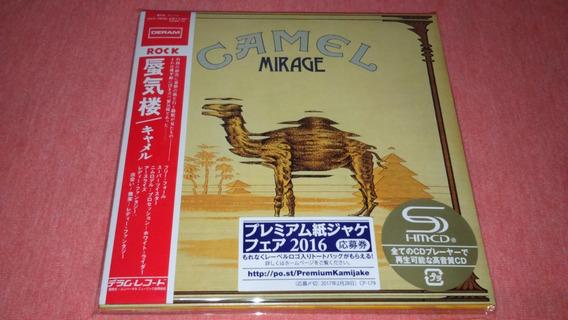 Camel - Mirage Mini Lp Japan Shm Cd ( With 04 Bonus Tracks )