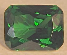 Rsp 3464 Esmeralda Octogonal 7x5mm Preço Pedra 0,86 Ct