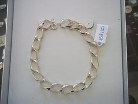 Bracelete Masculino Em Prata