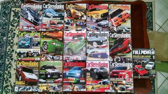 Lote De 15 Revistas Carstereotuning + 4 De Brinde