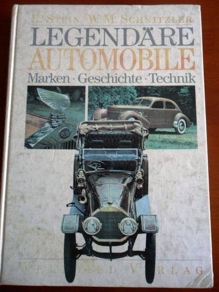 Livro Carros Lendários (legendare Automobile) Importado