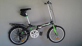 Bicicleta Plegable Chevrolet Bk 20 Aluminio