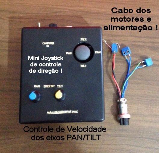 Girocam Controlador Pan/tilt Sliders Fotografia Filmagem