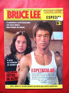 Revista Bruce Lee Nova Fase N°1- Revista Para Colecionador