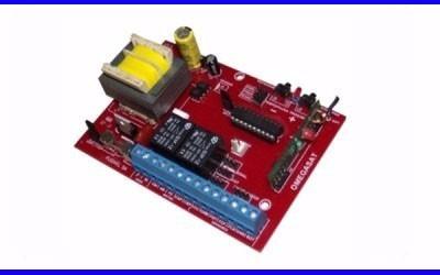 Central Placa Motor Portão Eletrônico Peccinin