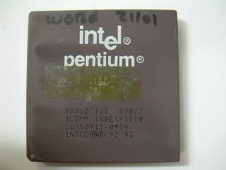 Processador Intel Pentium 133 Fv80502133 Socket 7