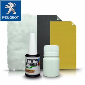 Tinta Tapa Tira Risco + Kit Polimento Peugeot Noir Obsidian