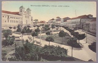 São Luís - Maranhão - Praça João Lisboa