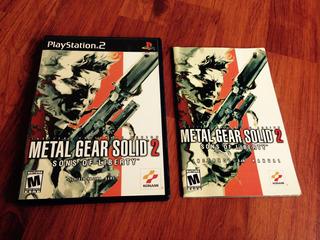 Metal Gear 2 Como Nuevo