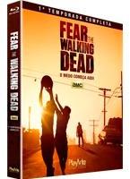 Blu Ray Fear The Walking Dead - 1ª Temporada, Dub/leg, Lacra