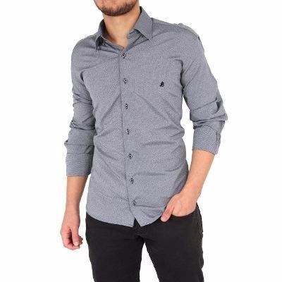 60ddd1bfef 2x Camisas Sociais Masculina Da Moda Para O Mesmo Frete - R$ 179,20 ...