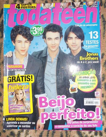 Revista Todateen Com Jonas Brothers (usado)