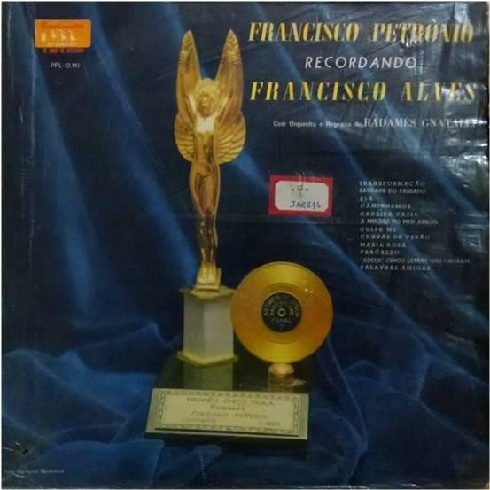 Lp Francisco Petronio Recordando Francisco Alves