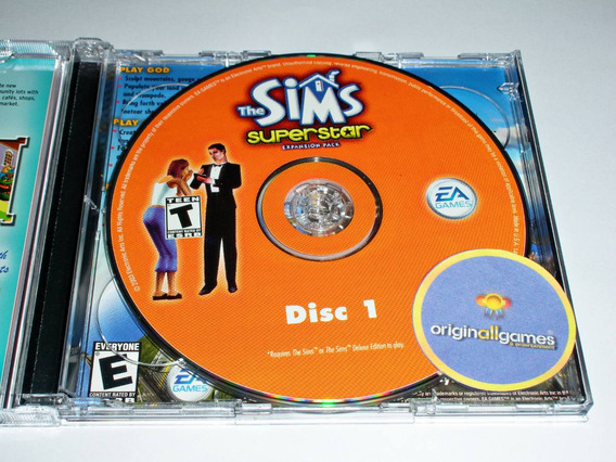 The Sims Superstar ¦ Jogo Pc Original Lacrado ¦ Mídia Físic