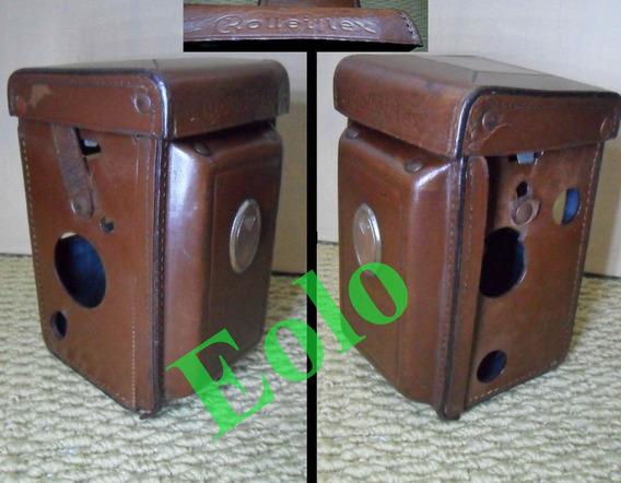 Estojo Rolleiflex Antigo -só Estojo- Original Rollei Germany