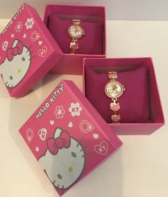 Relógio Hello Kitty Na Caixa!!!
