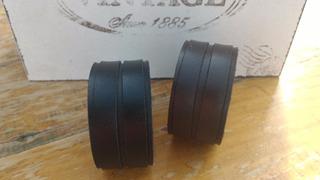 Conjunto Braceletes Couro Legítimo - 3cm - Preto Ou Marrom