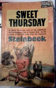 Livro Sweet Thursday Steinbeck - Edição Rara 1964