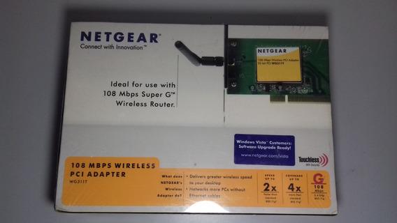 Adaptador De Rede Wireless Netgear 108mbps