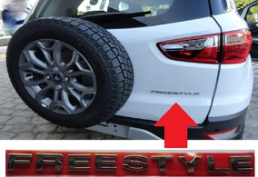 Emblema Adesivo Ford Ecosport Freestyle 13 14 15 Cromado