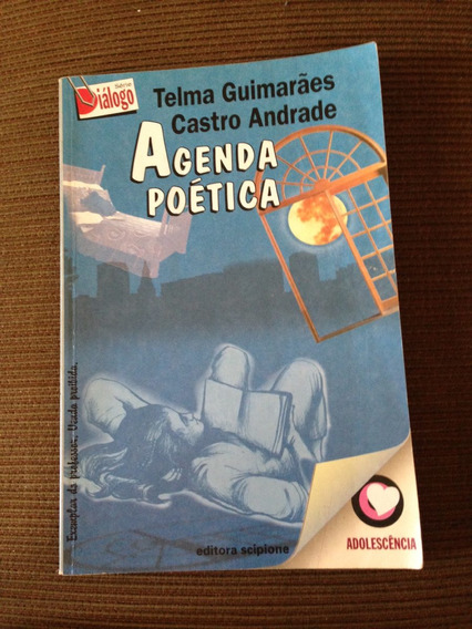Livro Agenda Poética Telma Guimarães Castro Andrade